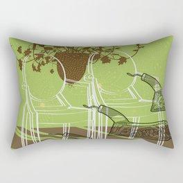 GhostChair Rectangular Pillow