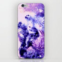 Violet Purple Galaxy Africa iPhone Skin
