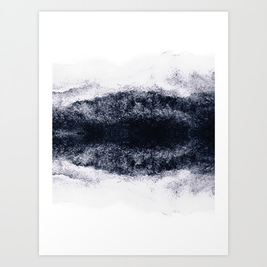 Atmosphere abstract art Art Print