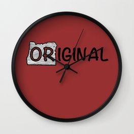 7th Generation Oregonian Wall Clock