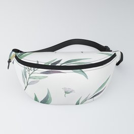 Native Gum Leaves Fanny Pack