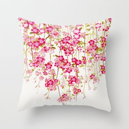 Cherry Blossom 1 Throw Pillow