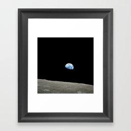 """""""Earthrise"""" Framed Art Print"""
