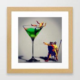 MixMotion: Sours Framed Art Print