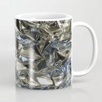 metallic Mugs featuring Metallic by Shannice Wollcock