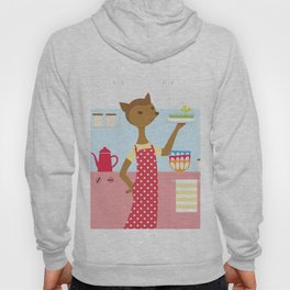 Deer In The Kitchen Hoody