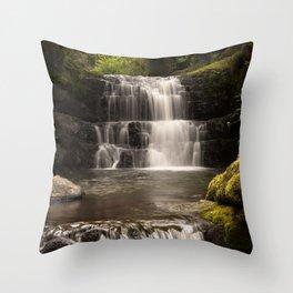 Sychryd Cascades Throw Pillow