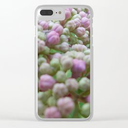 Hyacinth Buds Clear iPhone Case