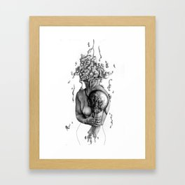 Beached Framed Art Print
