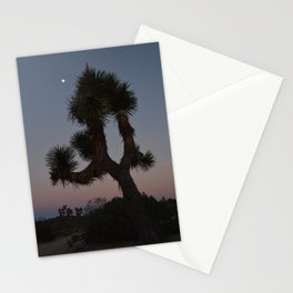 Sunset in Joshua Tree Stationery Cards