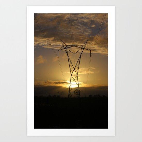Power and Beauty Art Print
