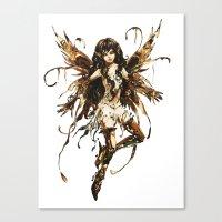 fairy Canvas Prints featuring fairy by Vector Art