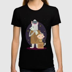 Boxtrolls LARGE Womens Fitted Tee Black