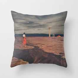 Across The History Throw Pillow