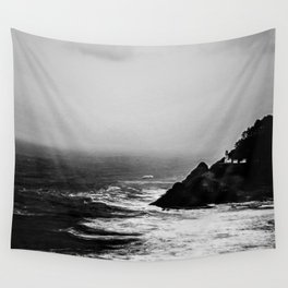 A Dark and Stormy Night Wall Tapestry