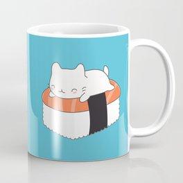 Kawaii Cute Sushi Cat Coffee Mug