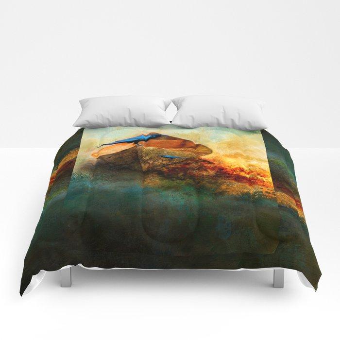 Beached Crow Comforters