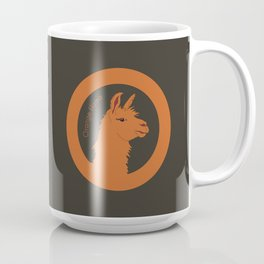 Orange Llama Coffee Mug