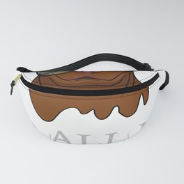 Pitbull Dog Lovers Sarcastic Graphic Novelty Cool Gifts Fanny Pack
