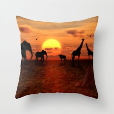 Savanne 2 Throw Pillow