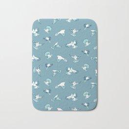 nester twill nz birds Bath Mat