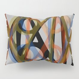 Abstract Composition 484 Pillow Sham
