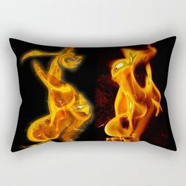 Flames of Love Rectangular Pillow