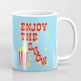 ENJOY THE SHOW - POPCORN PARTY Coffee Mug