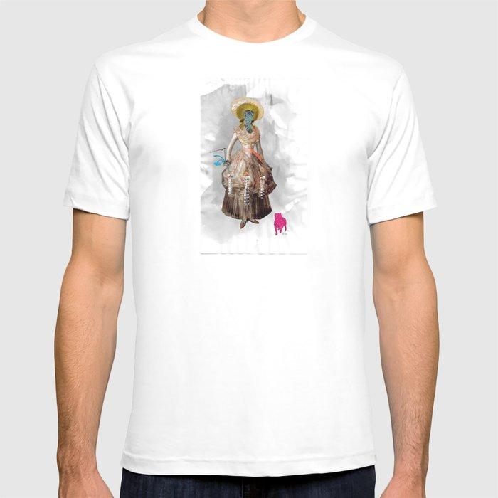 Goya -  Marquesa de Pontejos - Collage T-shirt