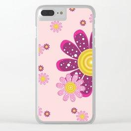 Flowers - Tea Rose Clear iPhone Case