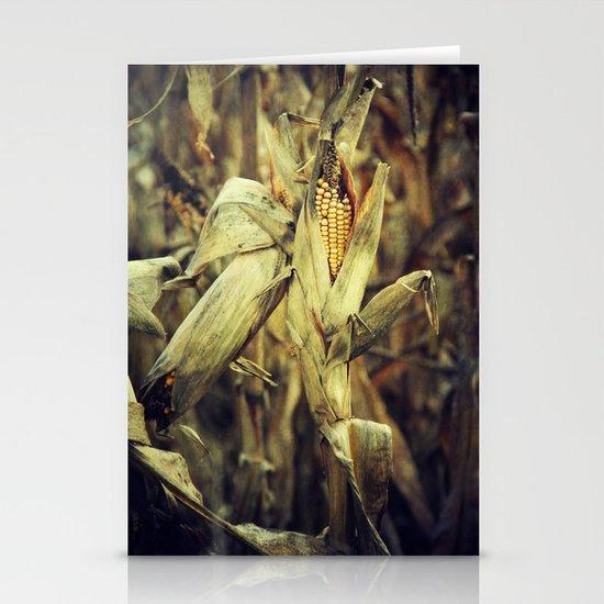 Corn Stationery Cards