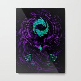 KARMA - Classic - The Enlightened One Metal Print