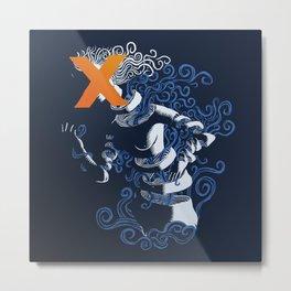 My hideous X Metal Print