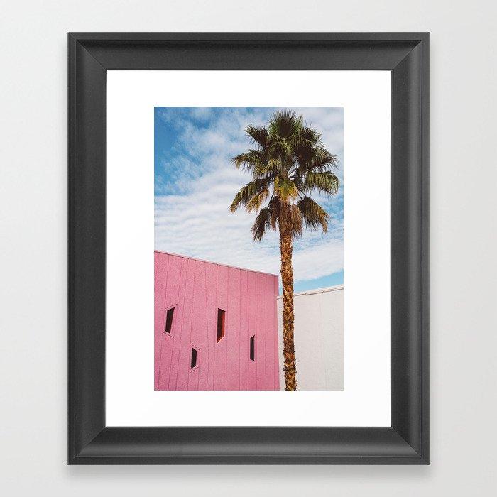 Palm Springs Vibes Gerahmter Kunstdruck