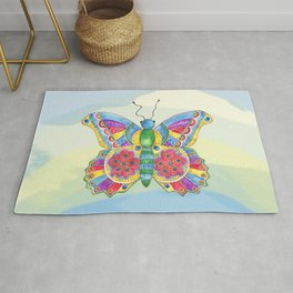Butterfly Pizzazz Rug