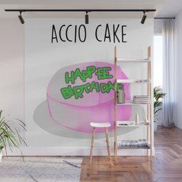 Accio Cake Watercolor Wall Mural