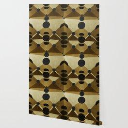 """African retro pattern (Ethnic)II"" Wallpaper"