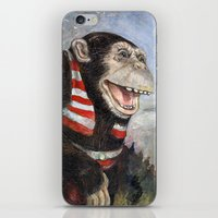 monty python iPhone & iPod Skins featuring Monty by hazael anaya
