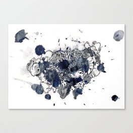 The Anatomy of Thought 4 Canvas Print