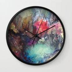 Strength and Happiness  Wall Clock