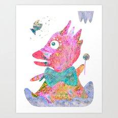 Fish's Whisper  Art Print