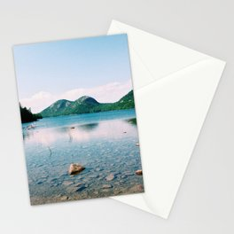 Jordan Pond - Acadia National Park Stationery Cards