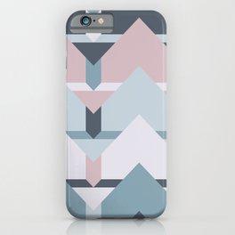 Scandi Waves #society6 #scandi #pattern iPhone Case