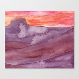 Mar de Lava Canvas Print