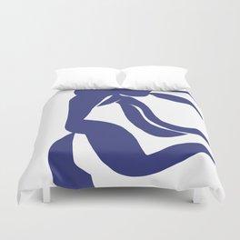 Matisse Cut Out Figure #4 Deep Blue Duvet Cover
