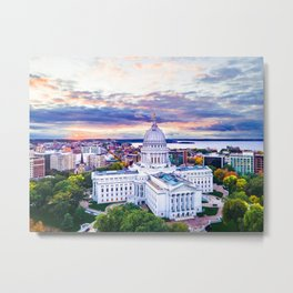 Sunset Wisconsin - Sept 2020 Metal Print