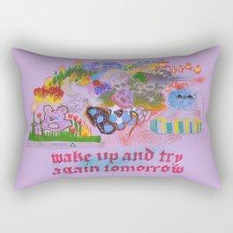Wake UP Rectangular Pillow