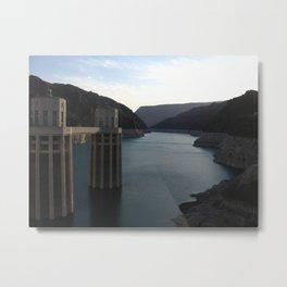 Hoover Dam II Metal Print