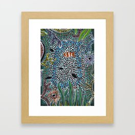 The Reef - Abundance Framed Art Print
