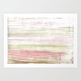 Dark vanilla abstract watercolor Art Print